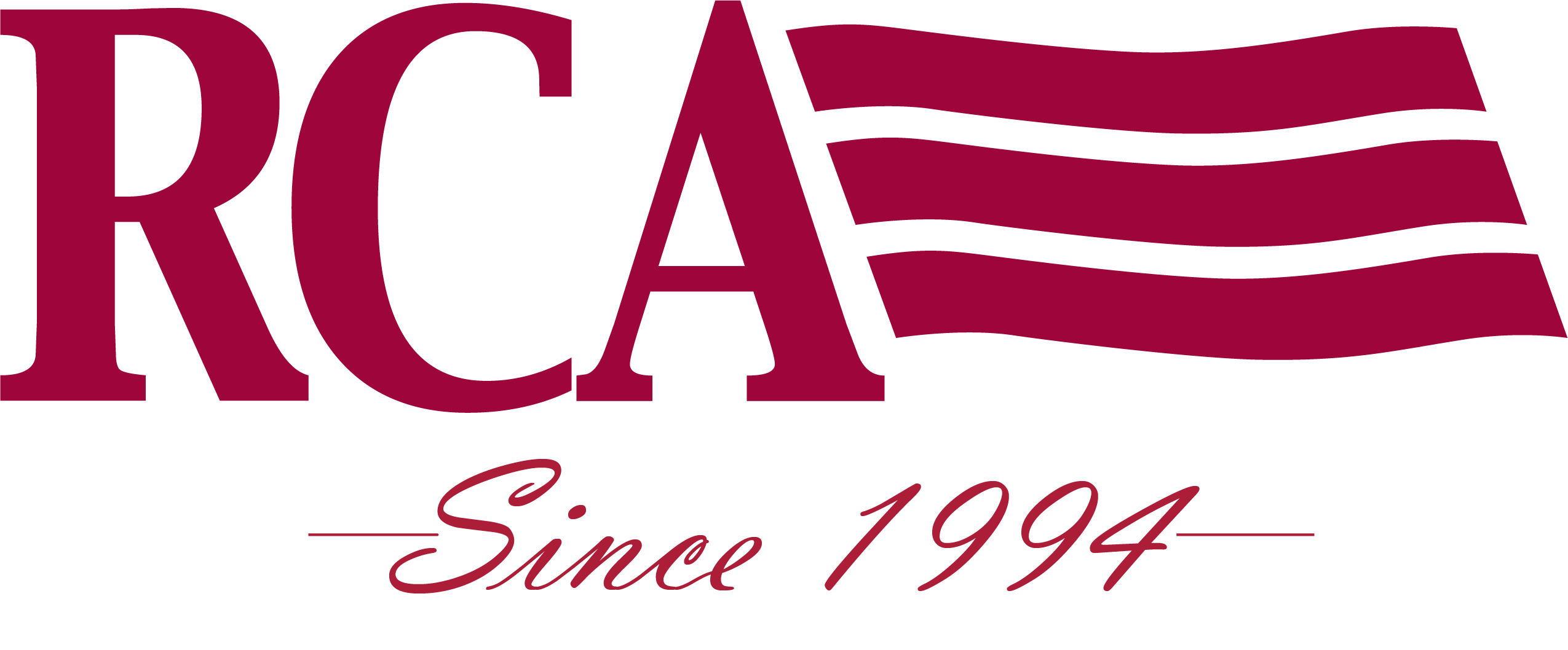 RCA 1994 logo -All Red